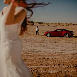 Karina + Luis || Desert Day After Shooting
